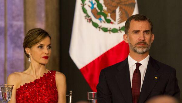 Los reyes de España, Felipe VI y Doña Letizia (imagen referencial) - Sputnik Mundo