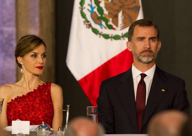Los reyes de España, Felipe VI y Doña Letizia (imagen referencial)