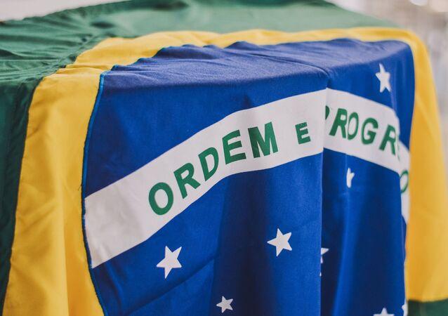La bandera de Brasil