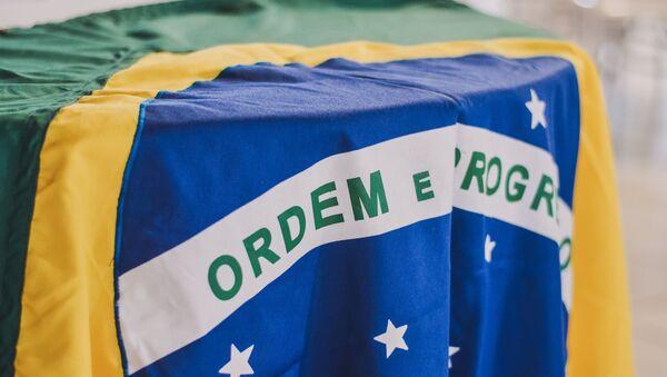 La bandera de Brasil - Sputnik Mundo