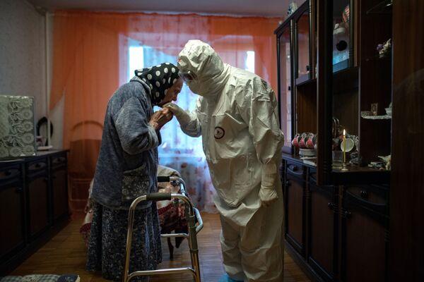 Una semana más de coronavirus y de primavera, en fotos  - Sputnik Mundo