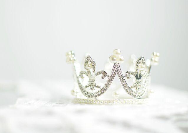 Corona de brillantes
