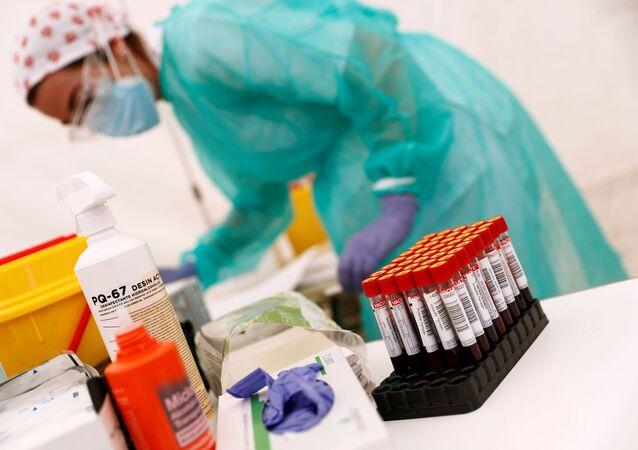 Unas pruebas de coronavirus