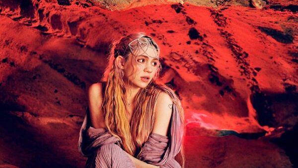 Grimes, artista y cantante canadiense - Sputnik Mundo