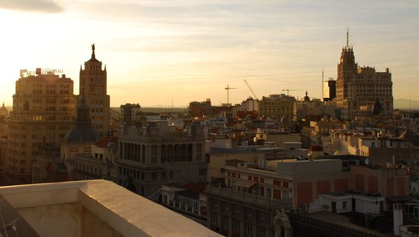 Vista del centro de Madrid (imagen referencial) - Sputnik Mundo