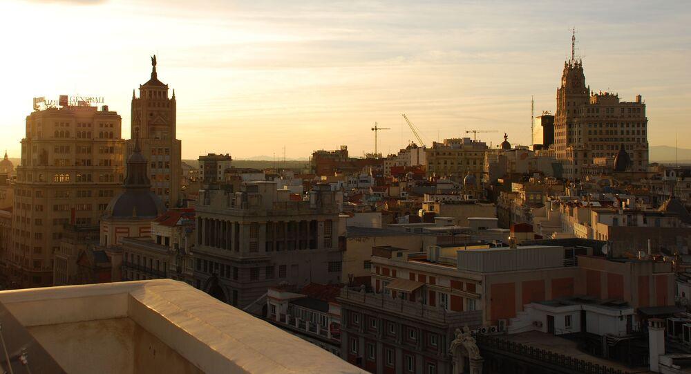 Vista del centro de Madrid (imagen referencial)