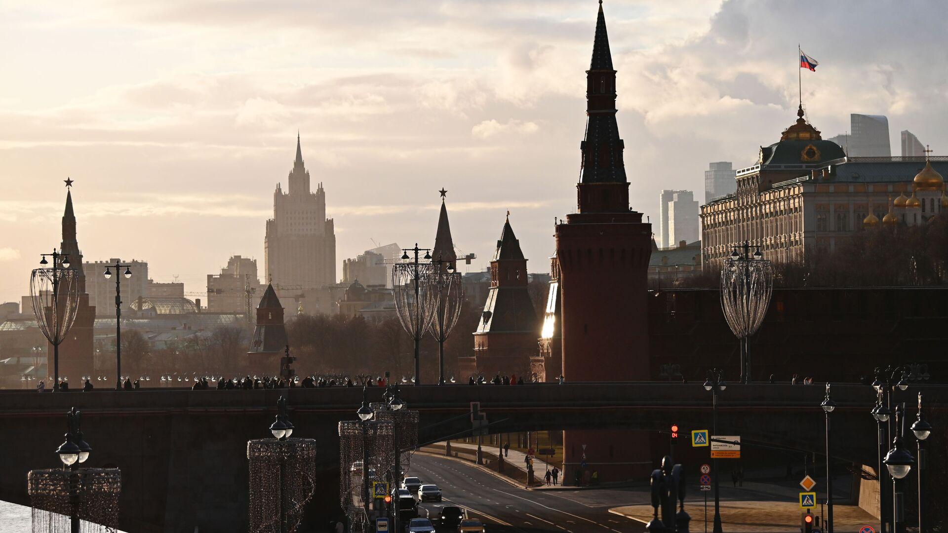 El Kremlin y el Ministerio de Exteriores de Rusia en Moscú - Sputnik Mundo, 1920, 12.03.2021