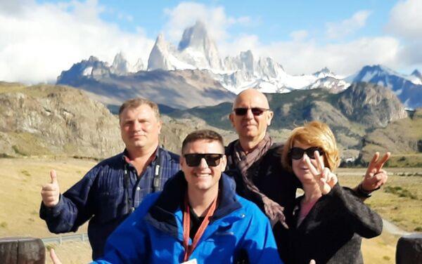 Dimitry Govor es guía de turismo en Argentina - Sputnik Mundo