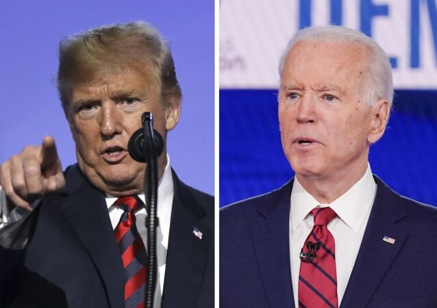 Donald Trump (izda.) y Joe Biden (dcha.), políticos estadounidenses