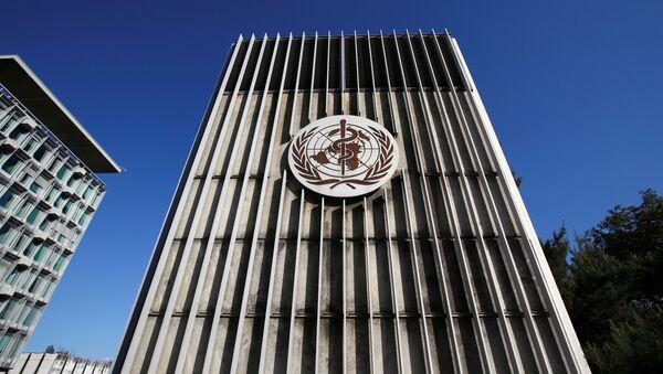 La sede de la OMS en Ginebra - Sputnik Mundo