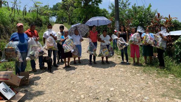 Las personas que reciben ayuda de Bancos de alimentos en México - Sputnik Mundo