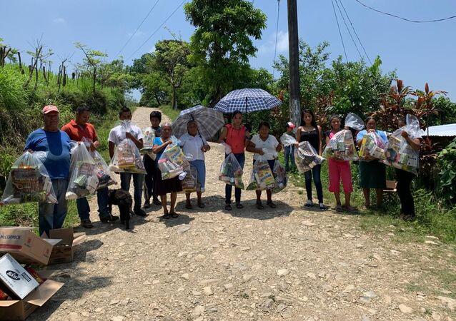 Las personas que reciben ayuda de Bancos de alimentos en México