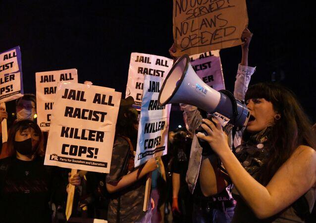 Protestas en Minnesota por la muerte de George Floyd, el 29 de mayo