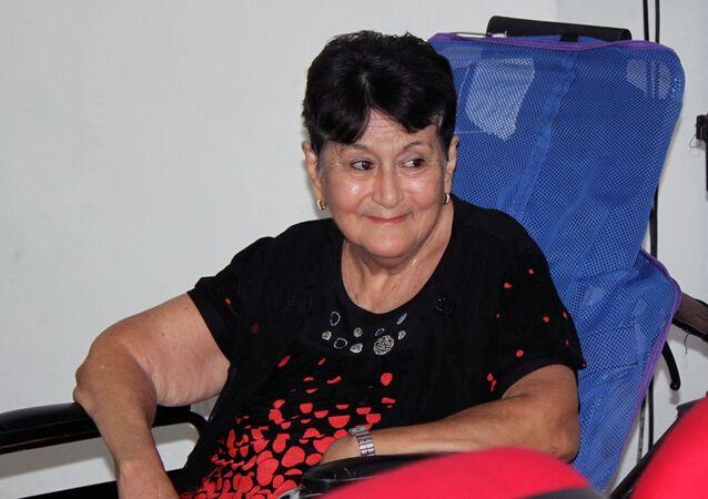 Margarita Ruiz, fundadora y presidenta honoraria de la organización Esclerosis Múltiple Cuba (EM Cuba)