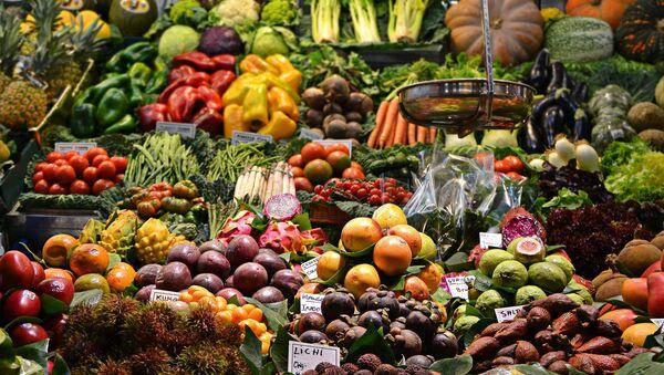 Un mercado de frutas (archivo) - Sputnik Mundo