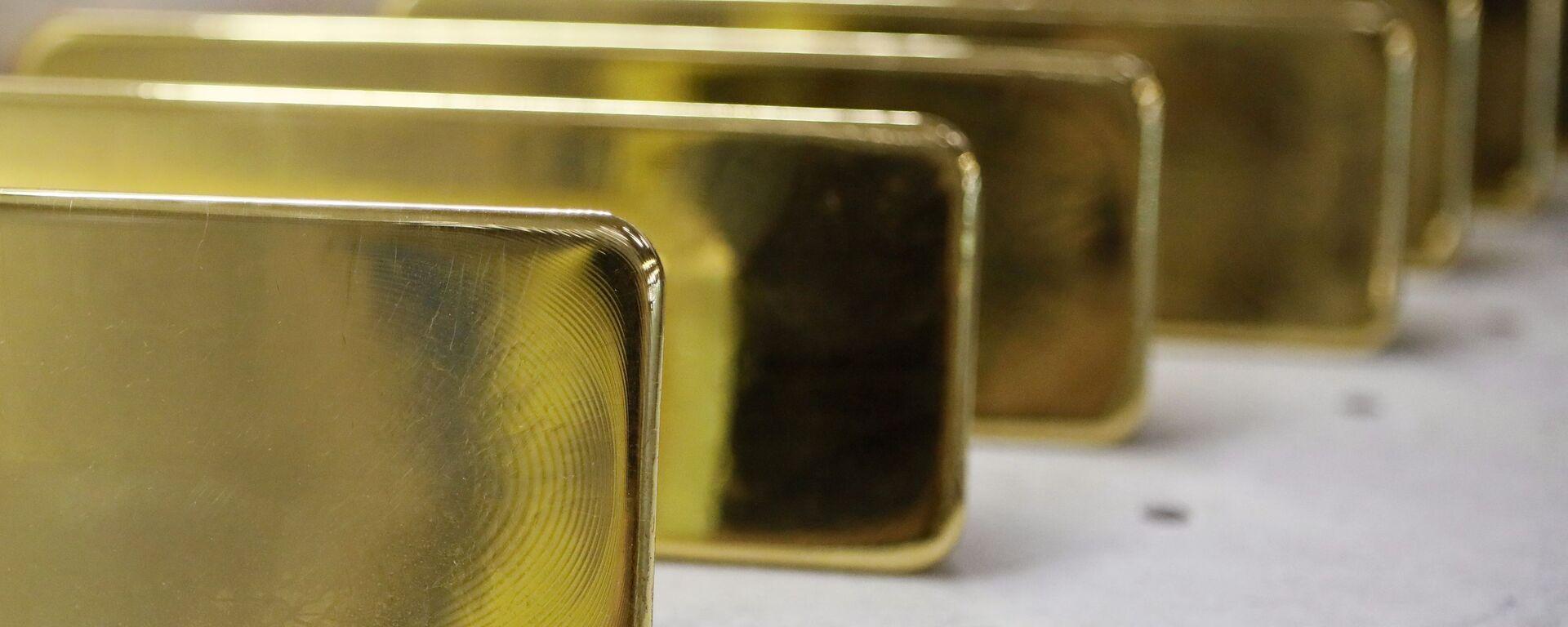 Lingotes de oro - Sputnik Mundo, 1920, 17.05.2021
