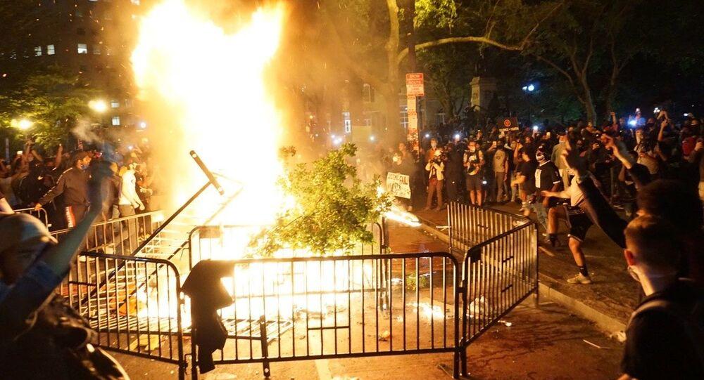 Las protestas y los disturbios desatados en Washington por la muerte del afroamericano George Floyd