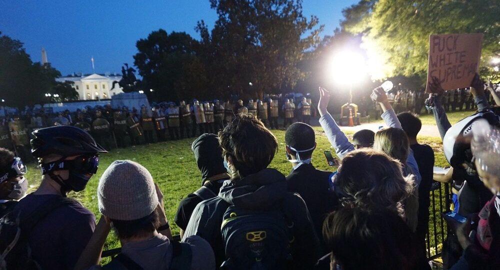 Las protestas y los disturbios por la muerte del afroamericano George Floyd
