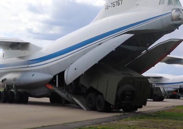 La Aviación de Transporte Militar de Rusia cumple 89 años