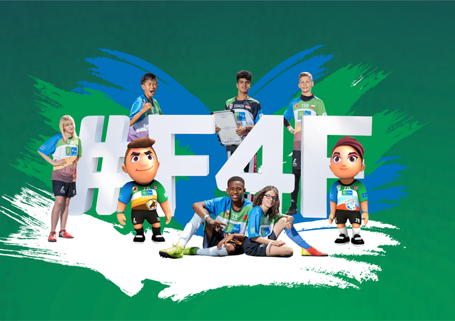 Logo del Campeonato Mundial F4F (Fútbol por la Amistad)