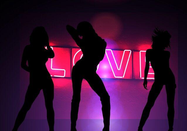 Striptease (ilustración)