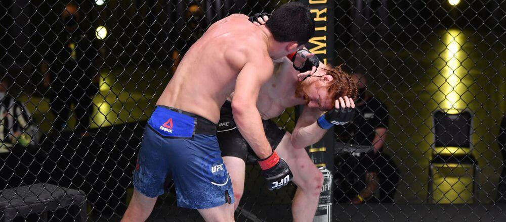 La lucha entre Billy Quarantillo y Spike Carlyle el 30 de mayo
