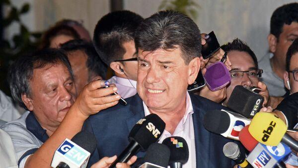 Efraín Alegre, presidente del opositor Partido Liberal Radical Auténtico (centroderecha) en Paraguay - Sputnik Mundo