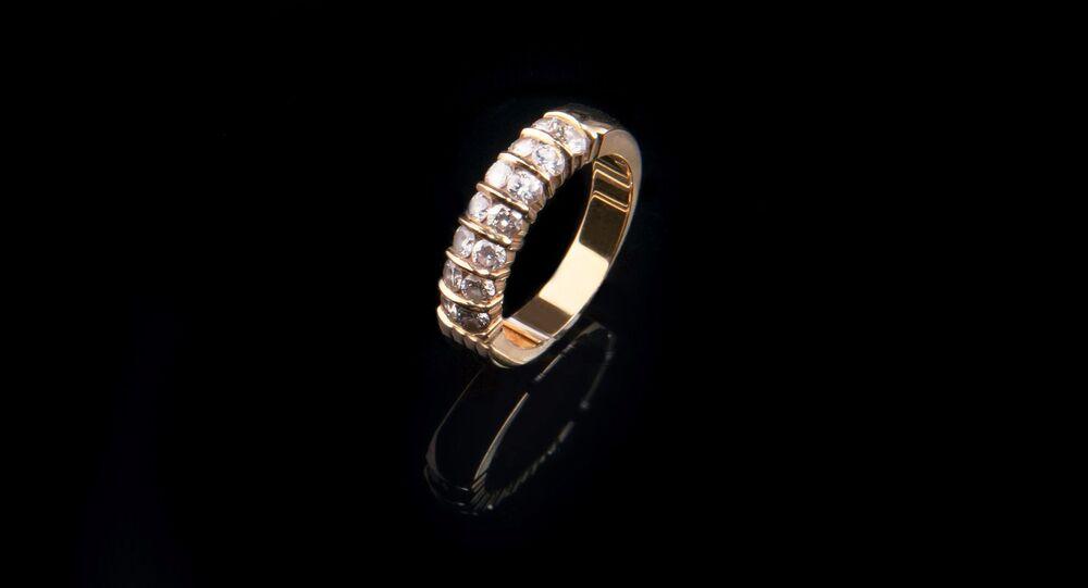 Un anillo. Imagen referencial