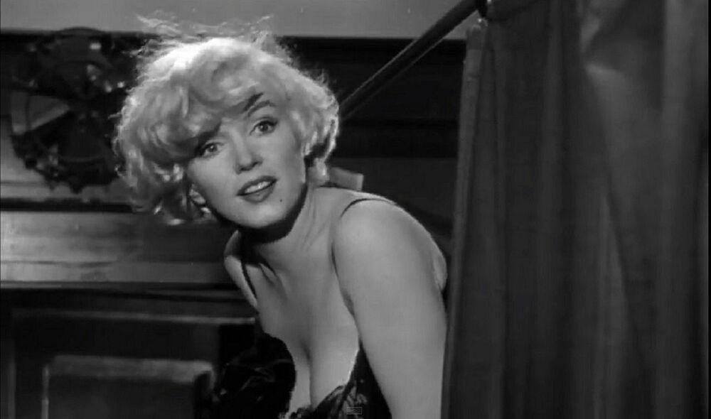 Marilyn Monroe en 'Some Like it Hot', 1959.
