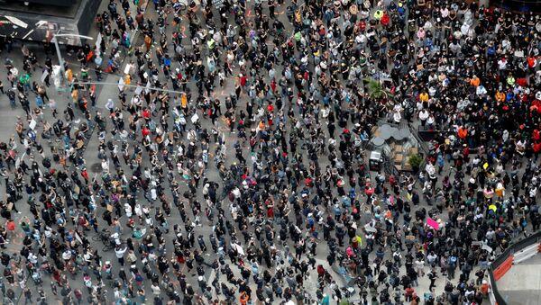 Protestas en Nueva York  - Sputnik Mundo