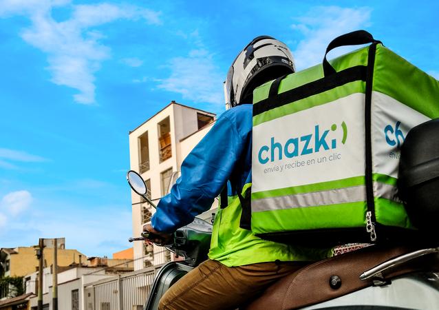 Repartidor de Chazki Chile