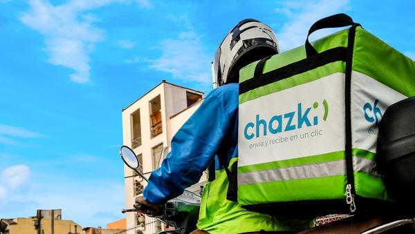 Repartidor de Chazki Chile - Sputnik Mundo