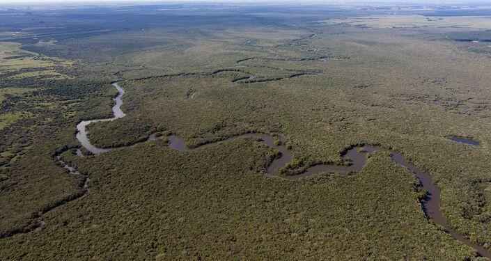 Río Queguay, Uruguay