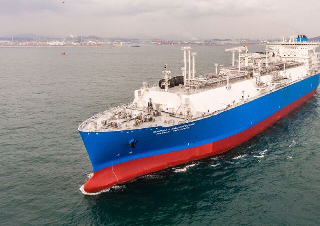 El buque Mariscal Vasilevski