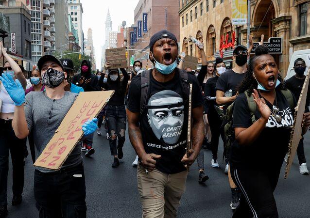 Protestas en EEUU
