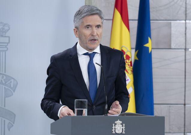 Fernando Grande-Marlaska, ministro de Interior español
