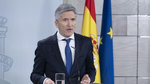 Fernando Grande-Marlaska, ministro de Interior español - Sputnik Mundo
