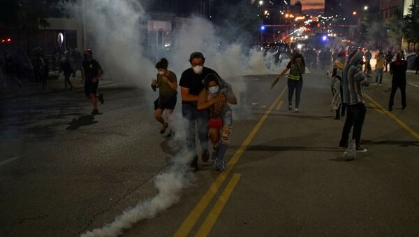 Protestas antirracistas en EEUU - Sputnik Mundo