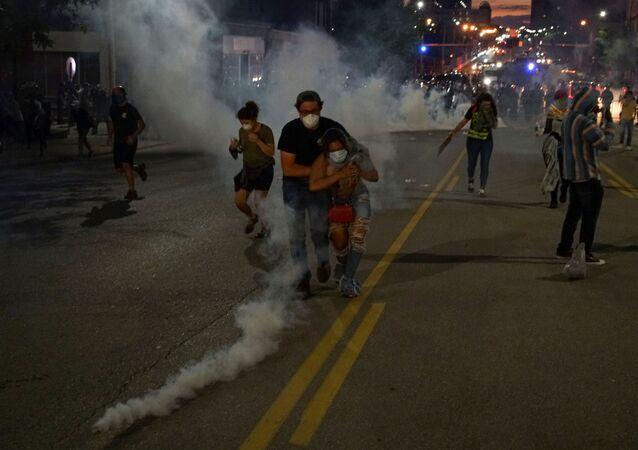 Protestas antirracistas en EEUU