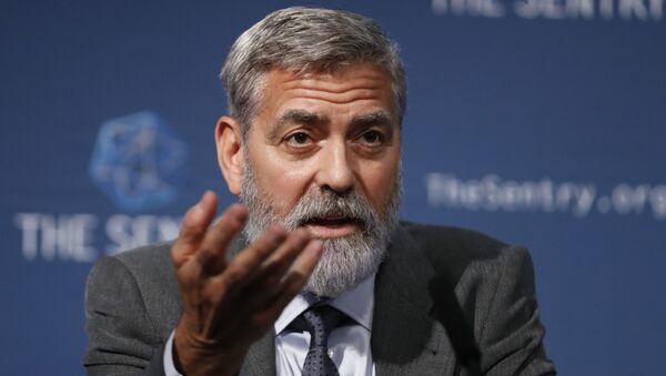 George Clooney, actor y activista estadounidense - Sputnik Mundo