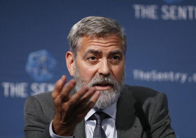 George Clooney, actor y activista estadounidense