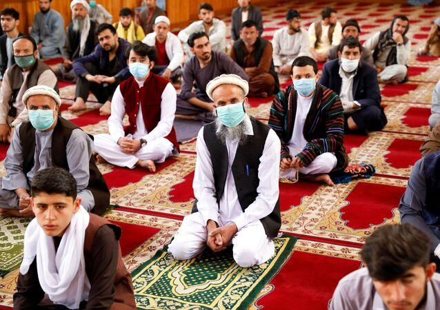 Una mezquita en Kabul, Afganistán (imagen referencial)