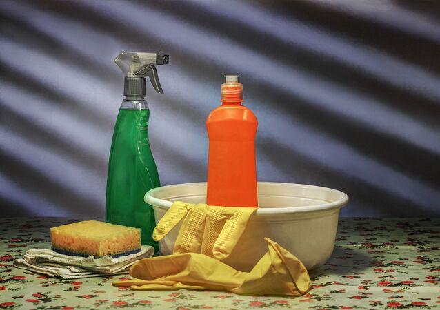 Productos de limpieza. Imagen referencial