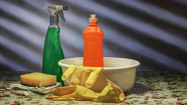 Productos de limpieza. Imagen referencial - Sputnik Mundo