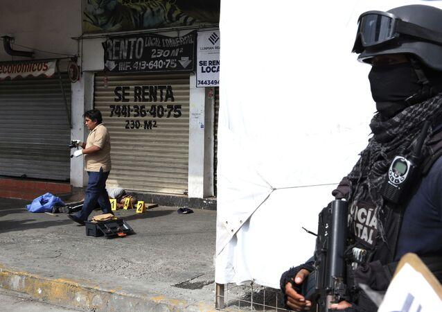 Violencia en México (imagen referencial)