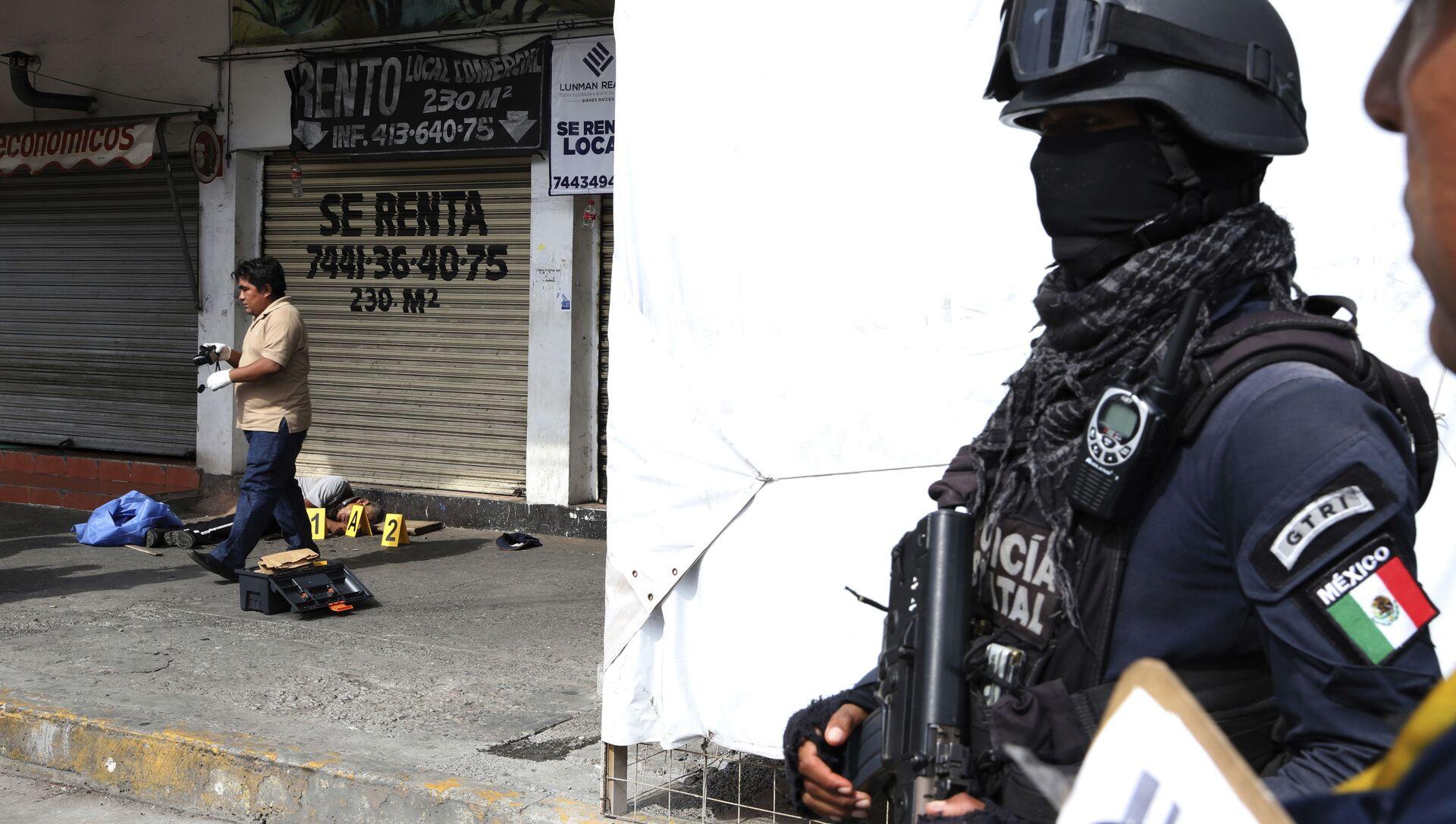 Violencia en México (imagen referencial) - Sputnik Mundo, 1920, 02.06.2020