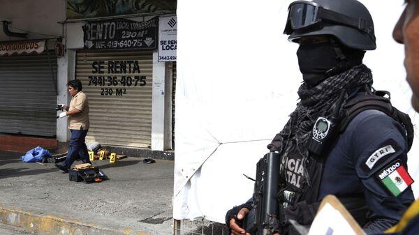 Violencia en México (imagen referencial) - Sputnik Mundo