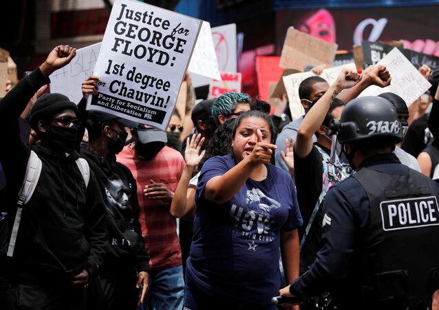 Protestas en Los Ángeles, Estados Unidos