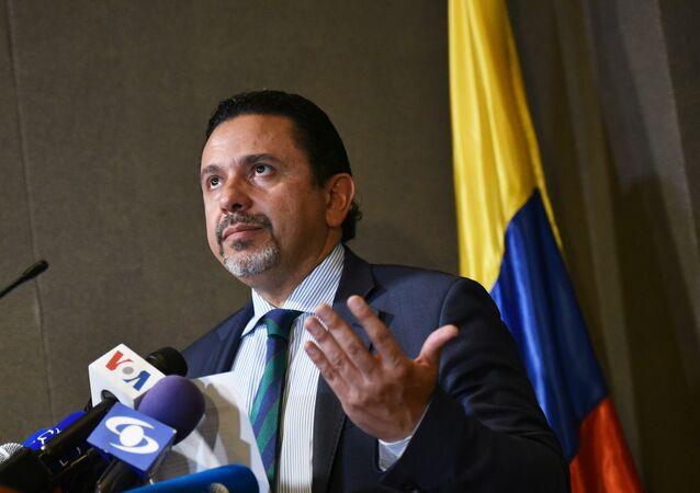 Miguel Ceballos, alto comisionado de Paz de Colombia