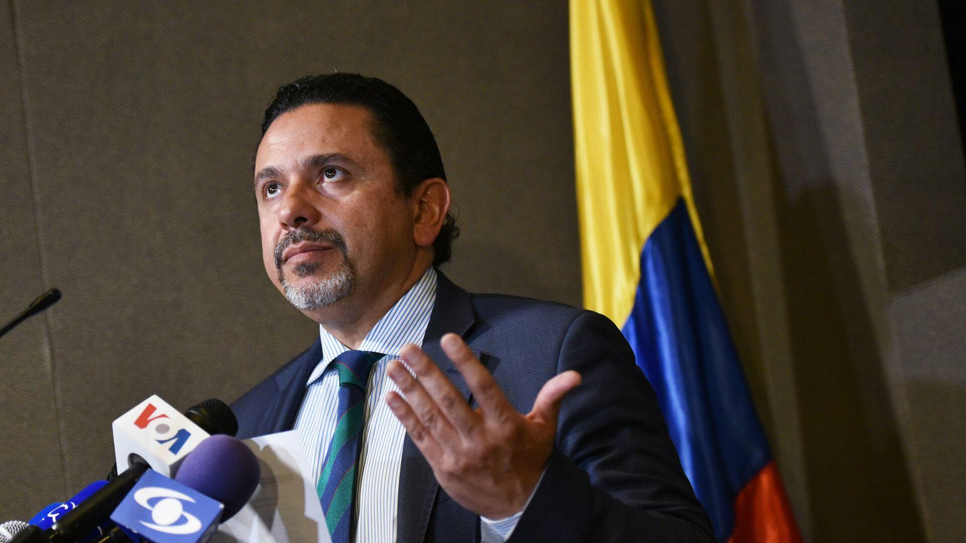 Miguel Ceballos, alto comisionado de Paz de Colombia - Sputnik Mundo, 1920, 22.02.2021